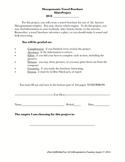 Mesopotamia Travel Brochure Mini-Project Guidelines