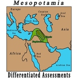 Mesopotamia - Two Versions of the Test, each with a key