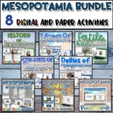 Mesopotamia Unit Bundle {Digital AND Paper}
