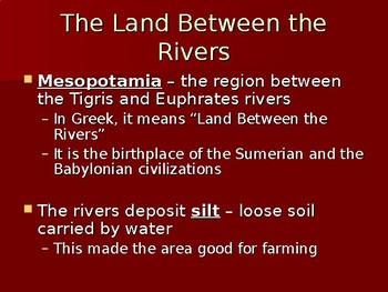Mesopotamia Unit Notes PowerPoint