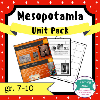 Mesopotamia Unit Pack