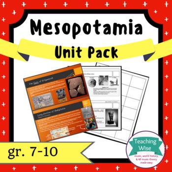 Mesopotamia Unit Pack - Babylon, Sumer, Akkad