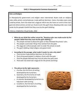 Mesopotamia Unit Test