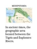 Mesopotamia Vocabulary