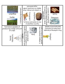 Mesopotamia Vocabulary Puzzle