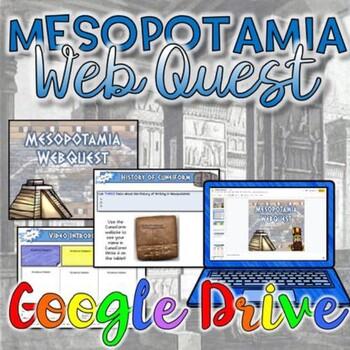Mesopotamia WebQuest {Digital}