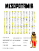 "Mesopotamia ""Geography Word Search"""