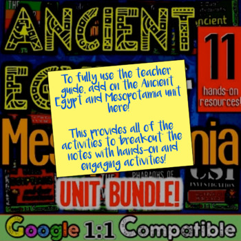 Mesopotamia and Ancient Egypt Guided Notes & PowerPoint! Sumer, Babylon, Egypt!
