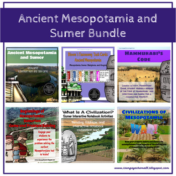 Mesopotamia and Sumer Ancient History Bundle