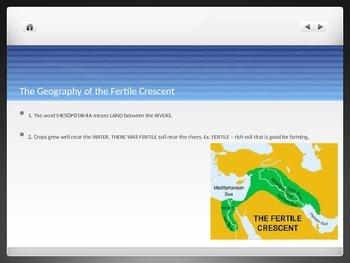 Mesopotamia & the Fertile Crescent Presentation