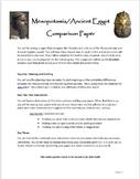 Mesopotamia v. Egypt Comparison Paper