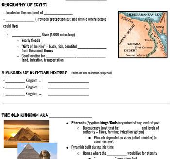 Mesopotamian Civilization & Ancient Egypt Bundle
