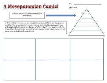 Mesopotamian Comic
