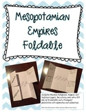 Mesopotamian Empires Foldable