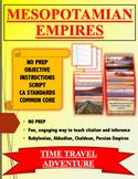 Mesopotamian Empires Time Travel Activity