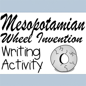 Mesopotamian Wheel Writing Activity