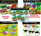 Mesozoic Era Dinosaur  (scribble clips)