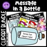 Message in a Bottle Clipart BUNDLE