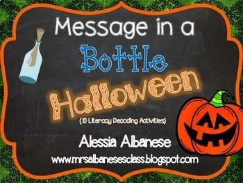 Message in a Bottle - Halloween