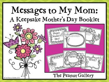 Messages to My Mom: A Keepsake Mother's Day Booklet
