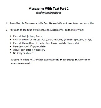 Messaging With Text Technology Lesson Plan & Materials