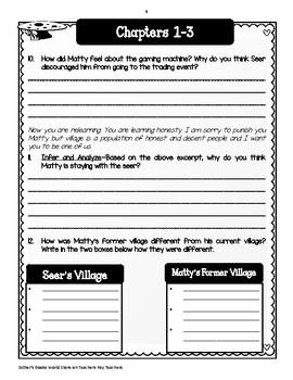 Messenger by Lois Lowry - Novel  Study Unit Bundle