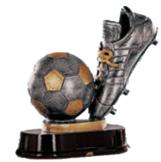 Messi recibe el Trofeo Pichichi