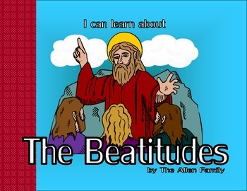 Messianic Beatitudes Coloring Book