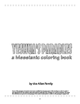 Messianic Learning: Yeshua's Parables
