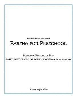 Messianic Parsha for Preschoolers Volume 1