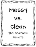 Messy Bedroom vs. Clean Bedroom Common Core Activities