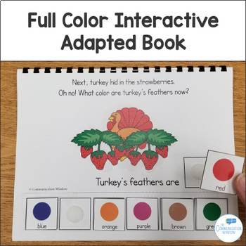 Messy Day for Turkey! Interactive Book and Activities