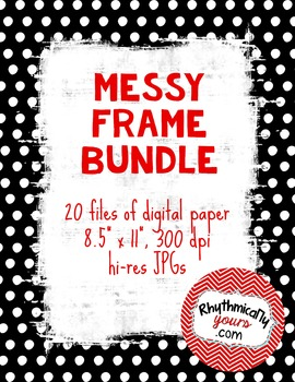 Messy Frames Bundle