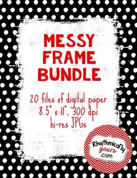 Messy Frames Bundle