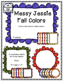 Messy Jessie Doodle Frames - Fall Colors!