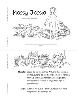 Messy Jessie (Leveled Readers' Theater, Grade 2)