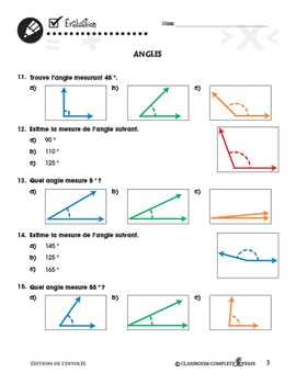 Mesure: Angles An. 3-5