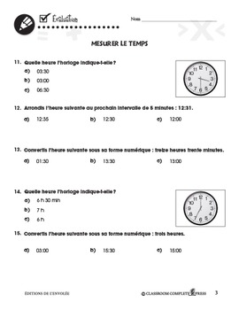 Mesure: Mesurer le Temps An. PK-2