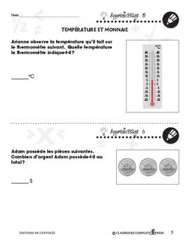 Mesure: Température et Monnaie An. PK-2