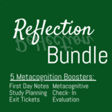 Metacognition Boosters: 6 Resources! Including  Bonus Year