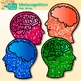 Metacognition Clip Art | Growth Mindset and Psychology Graphics for Resources