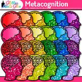 Metacognition Clip Art: Growth Mindset Graphics {Glitter Meets Glue}