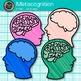 Metacognition Clip Art {Growth Mindset and Psychology Grap