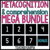 Metacognition, Reading Comprehension MEGA BUNDLE