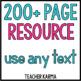 Metacognition ~ Comprehension ~ Mega Bundle ~ Improve Read