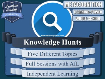 Metacognition (Knowledge Hunt Lessons!) [x5]