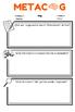 Metacognition Log