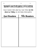 Metacognition Notes Sheet