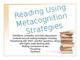 Metacognition Reading Strategies PowerPoint