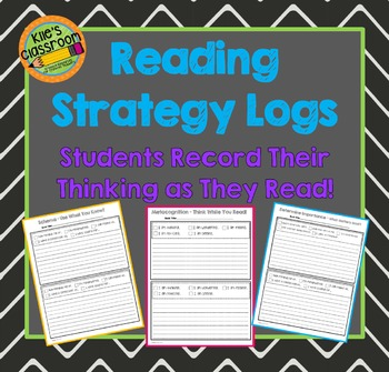 Metacognition Reading Strategy Stems - Reading Journal - Reading Log